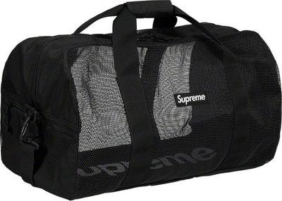 GOSPEL【Supreme Big Duffle Bag】黑色 旅行包 SUP102