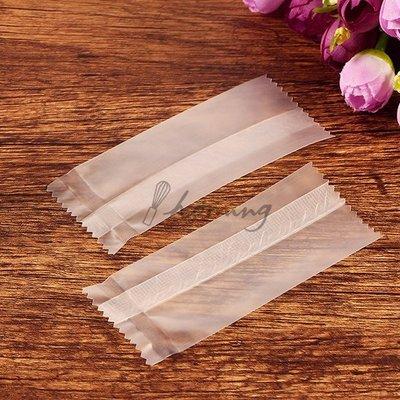 【homing】(100入)加厚款-空白無印刷霧面牛軋糖包裝袋/糖果袋/ 南棗核桃糕/杏仁酥/年糖包裝袋