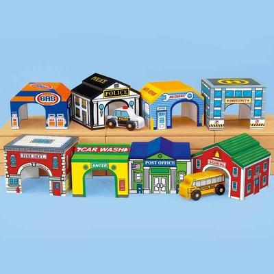 【晴晴百寶盒】美國進口 社區車庫組 LAKESHORE 感覺統合 尋寶遊戲感統教具益智遊戲環保無毒玩具遊戲感官W304