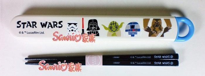 《東京家族》日本☆STAR WARS☆星際大戰  Q 版筷子(附盒)