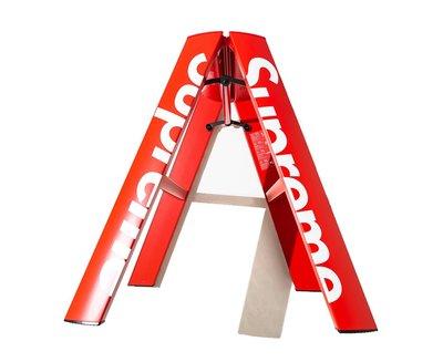 【希望商店】Supreme Lucano Step Ladder 18FW LOGO 金屬 聯名 梯子