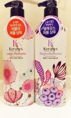【F&Y 美妝】韓國 KeraSys 可瑞絲 香氛洗髮精/潤髮乳 600ml 柔順 清爽 控油