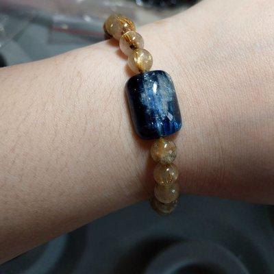 天然藍晶石 鈦晶 金髮晶 說話的勇氣
