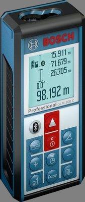 【合眾五金】『附發票』GLM 100C米 藍牙雷射測距儀 BOSCH 博世保固一年 實體店面安心購買