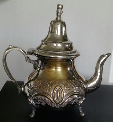100 土耳其鍍銀壺Vintage Turkish Silverplate Teapo
