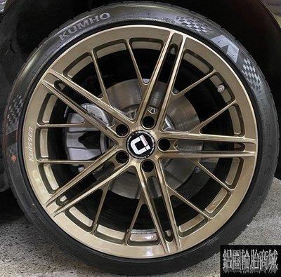 全新 KlasseniD F53R 19吋 旋壓鋁圈 5孔120 100 108 112 114 BMW G20 實裝圖