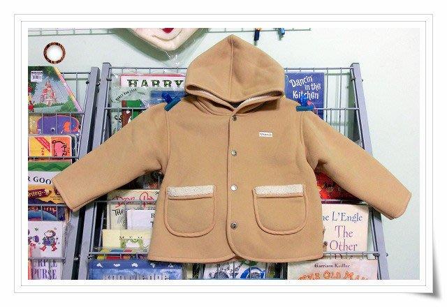 *【小小pen童衣--】....為寒冬的準備~~Q版內刷毛外套 ~ 給適合的小朋友