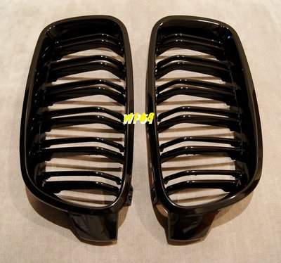 GRILLE for F30 F31 F35 12-16 335i M3 LOOK STYLE 水箱罩 高級鋼琴黑亮烤漆