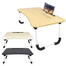 【超人百貨O】手機/平板萬用 追劇摺疊電腦桌(LY-NB28) 60x39cm大桌面 可負重40kg重量