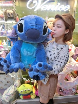 Venice維娜絲日本連線代購迪士尼超大尺寸史迪奇娃娃80cm