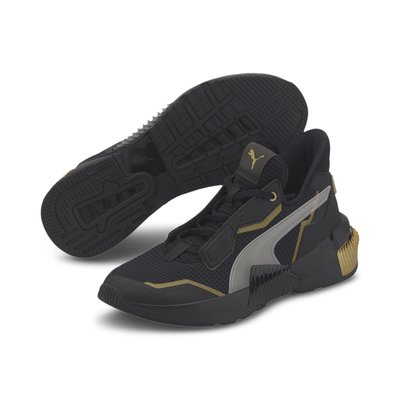 [狗爹的家] PUMA PROVOKE XT 黑 金 女訓練鞋 Jolin 蔡依林代言 現貨 免運