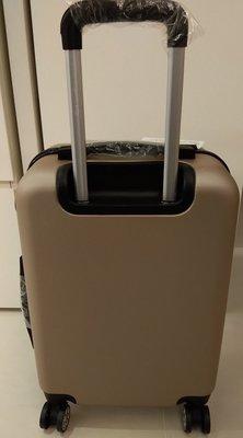 Aaplus20吋多角度金色ABS登機行李箱(原廠外箱出貨)
