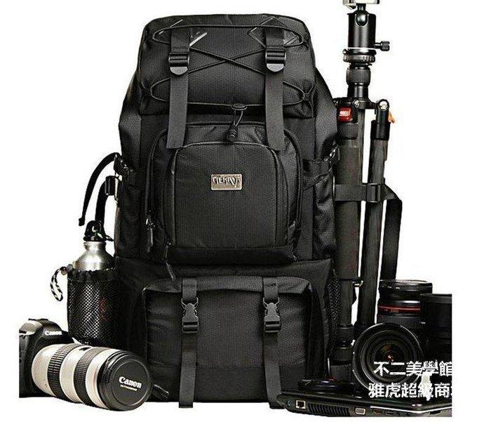 【格倫雅】^優選面料梅卡瓦攝影包專業雙肩單反相機包 佳能多功能戶外雙機大容699[g-l-y