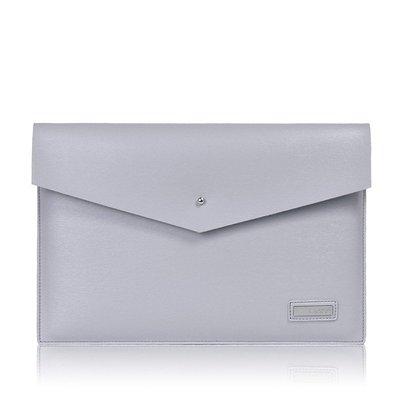 手拿包皮革電腦包-商務純色簡約信封包男女包包3色73vy39[獨家進口][米蘭精品]