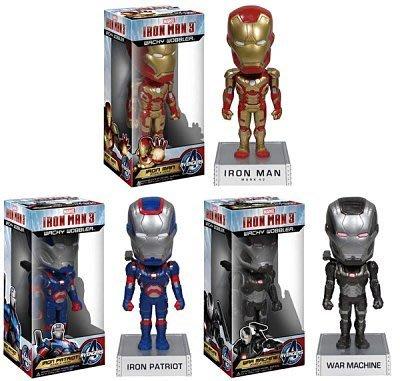【AVANTER】代購 美國原裝 FUNKO 鋼鐵人 3 電影版 愛國者 搖頭公仔 Marvel 授權 一套三款現貨
