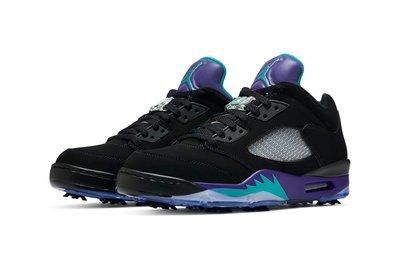【S.M.P】Air Jordan 5 Low Black Grape 黑紫 CU4523-001