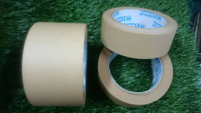 TC量販店 4.8CM 牛皮紙膠帶 布質膠帶 封箱膠帶 超強黏性 可書寫 紙膠帶 捲/長3600CM