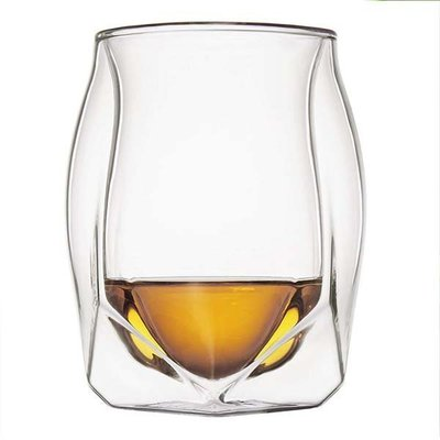 【促銷價】Glen Norlan諾蘭杯威士忌杯/雙層酒杯ins威士忌大人網紅杯