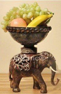 INPHIC-大象擺飾水果盤創意東南亞裝飾品擺設個性