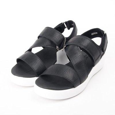零碼出清~Skechers  休閒系列  皮質  涼拖鞋LIGHT STAR  黑 32755BLK  現貨
