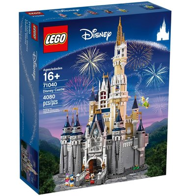 【樂GO】LEGO 樂高 71040 迪士尼城堡 The Disney Castle 下標先詢問 可自取 樂高正版