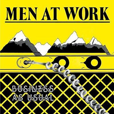 美國二手黑膠Men at work/Business as usual