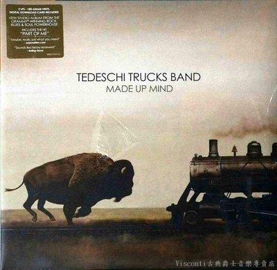 @【SONY】Tedeschi Trucks Band:Made Up Mind塔德琪崔克樂團:下定決心(二張黑膠)