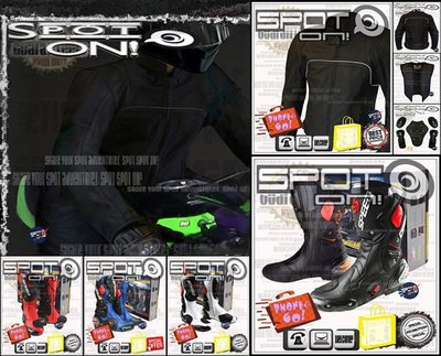 Spot ON - TS08 真皮打洞厚款防摔衣 搭購 B1001 賽車鞋-全Size 大尺碼! 美國 戰蠍 跩哥 嘻皮