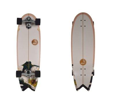 """衝浪滑板 Slide Swallow Wahine 33"""" Surfskate Boards"""