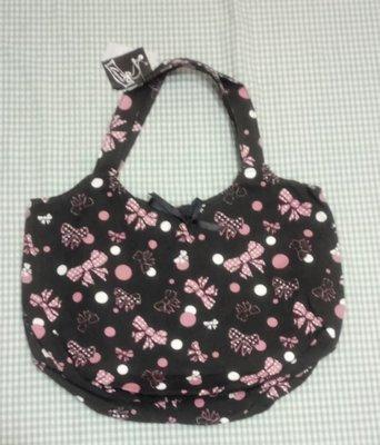 甜美 帆布肩揹包 手提包 袋