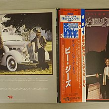 【柯南唱片】Bee Gees 比吉斯合唱團 //LIVING EYES>日版LP