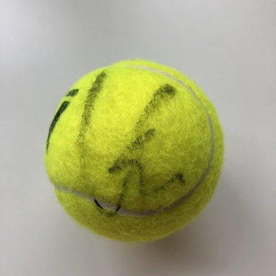 網球王子 錦織圭 簽名球 日本 稀少難簽