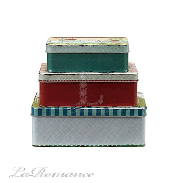 【Creative Home】Heart & Home 心戀家居系列美麗人生錫製彩繪置物盒 / 收納盒