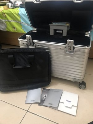 機長箱 RIMOWA PILOT Business 鋁鎂合金 兩輪商務登機箱/機長箱/相機箱/行李箱.