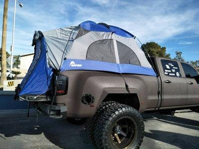 DJD19091130 Chevy 貨卡 後斗帳篷 campin 套件 40000起 依版本及當月報價為準