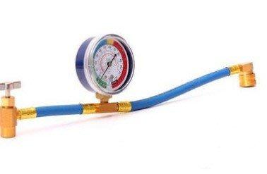(滿666-66)r134a recharge hose 歐美DIY汽車空調制冷劑補充檢測管加氟管