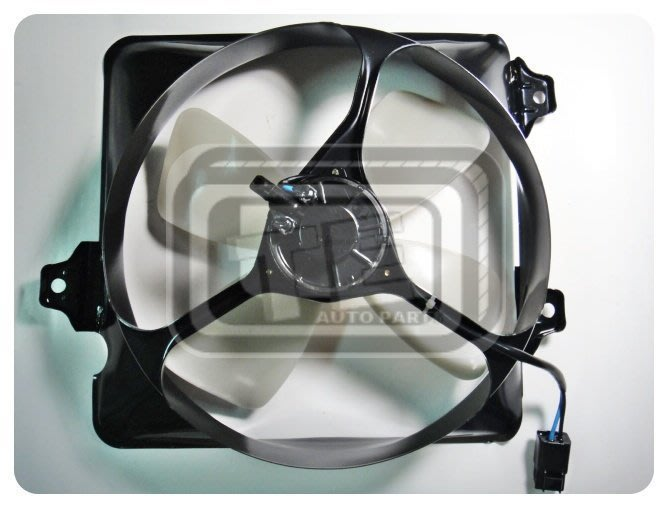【TE汽配通】豐田 TOYOTA PREMIO 1.6/2.0 冷氣風扇 冷扇總成 鐵框 日本馬達 台灣製外銷件