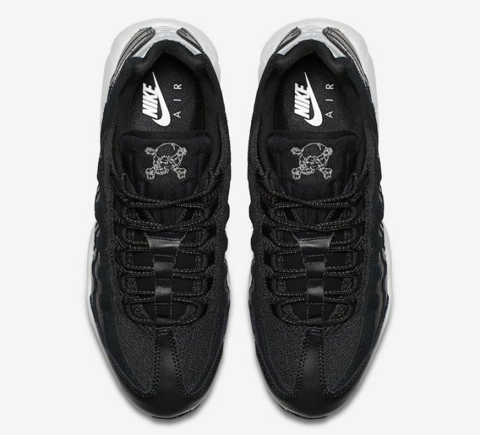 """Nike Air Max 95 """"Rebel Skulls"""" Releasing This Fall 骷髅頭"""