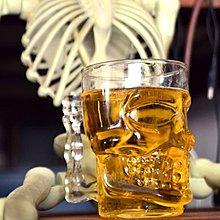 創意超大號帶手柄骷髏頭酒杯 鬼頭杯 意大利Crystal Skull骷髏頭杯