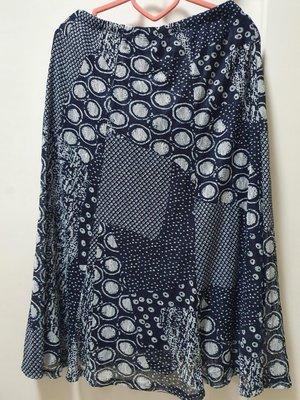 *小資女來挖寶*全新澳洲Target Piping Hot幾何圖形拼接感網紗附內裡鬆緊腰長裙