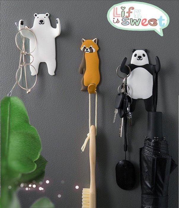 【萌寵掛勾】 KG0015 Zakka日式雜貨 店面裝飾 鄉村風 居家裝飾 卡通動物掛鈎 可愛萌寵尾巴可彎曲掛鈎