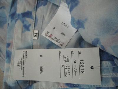 全新有吊牌  日系ANGELIC.C 棉100%  花朵風  口袋  七分袖襯衫