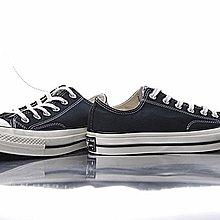 D-BOX  CONVERSE CHUCK TAYLOR ALL STAR 1970S 黑標 帆布鞋 黑白 複刻