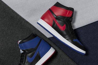 Nike Air Jordan 1 Retro High OG Top 3喬丹555088-026黑紅藍鴛鴦AJ1一代