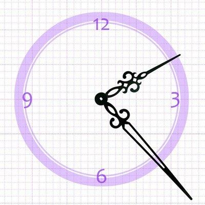 【鐘點站】H194130 SKP鎖針機芯指針 / DIY 時鐘 掛鐘 鐘針/分針19.4公分 時針13公分