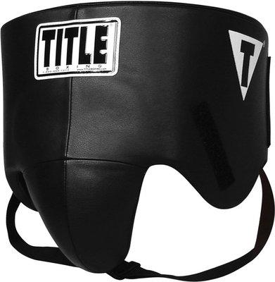 【TMMA台北格鬥運動館】TITLE 專業格鬥護襠 - 黑 - PNFV - XL