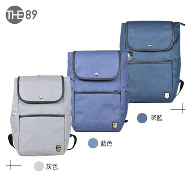 THE89 極簡光影 後背包 995-8204 防潑水後背包 小尺寸後背包 A4後背包 長方形後背包