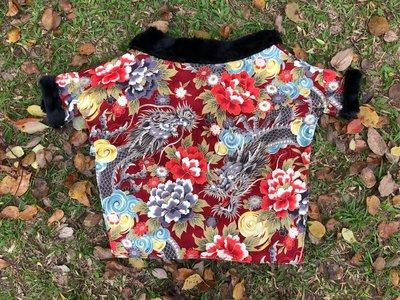 龍袍狗仔衫 香港手造狗仔衫 柴犬尺寸 Dragon robe for Shiba lnu Made in Hong Kong