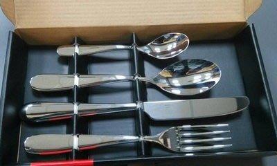 *meeting遇見*~【ALESSI】新.米蘭刀叉餐具 18/10不銹鋼 4件組 (有盒裝)