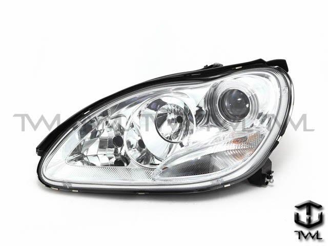 《※台灣之光※》全新BENZ W220 03 04 05年小改款S350 S500 S600原廠氙氣HID交換用頭燈組